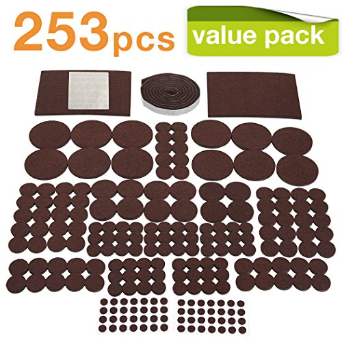 Including : 1 Pcs 1/2 X60 Inch Roll Strip Pads 56pcs Round 3/8 Inch  12pcsround 2 1/2 Inch 60pcsround 3/4 Inch 70PCSRound 1 Inch 12PCS Round 1  1/2 Inch ...