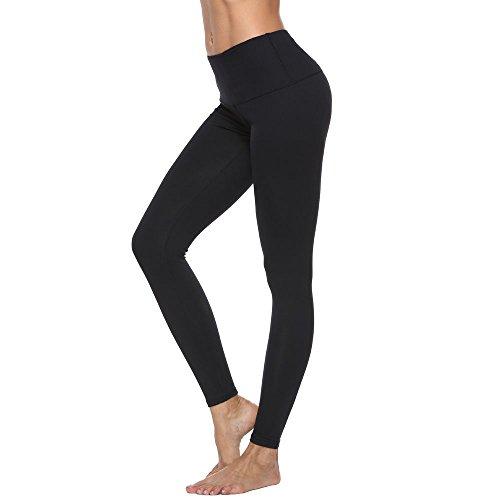 Baleaf Womens Printed Yoga Leggings Workout Active Pants Inner Pocket Ankle Length Capris