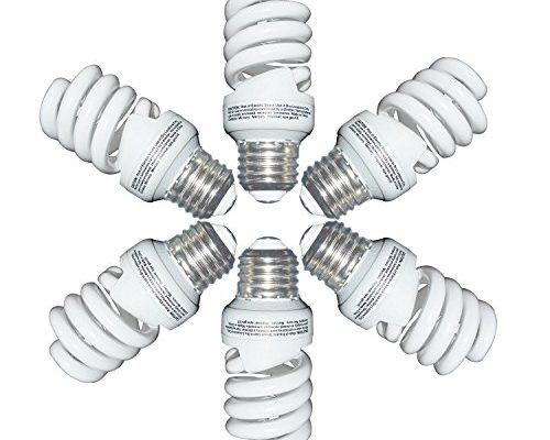 13 watt cfl light bulbs 60 watt soft white 2700k 1040lm