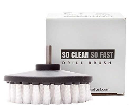 Non Scratch Scrub Brush Drill Attachment Clean Fiberglass Tub Microfiber